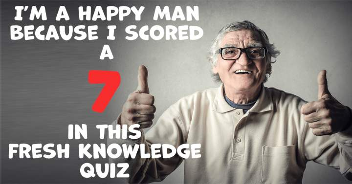 Fresh Knowledge Quiz