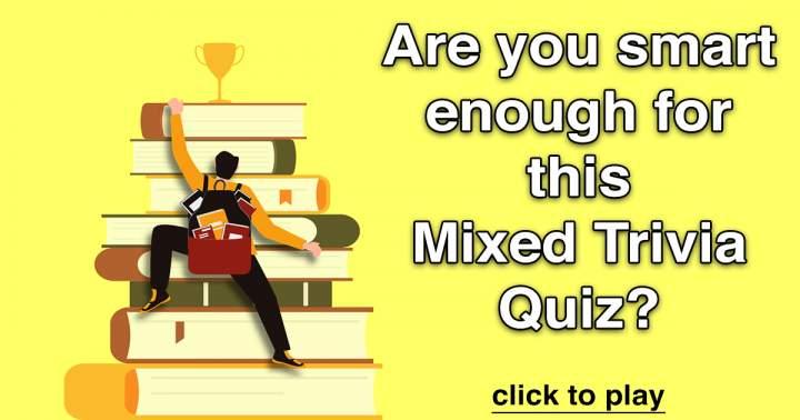 Mixed Trivia Quiz