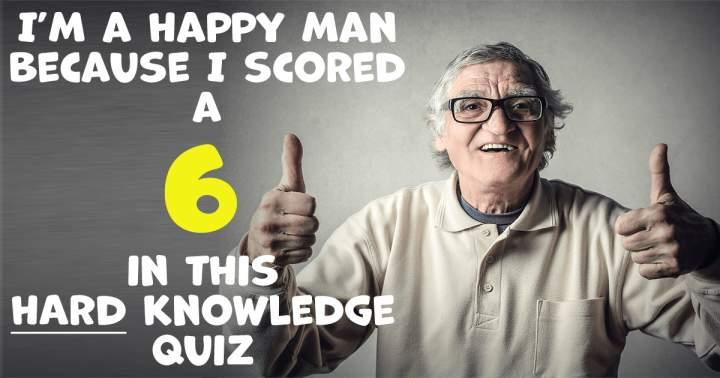 HARD Knowledge Quiz