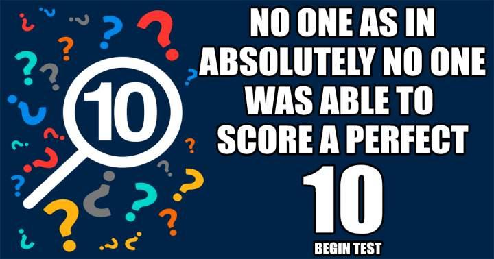 Unbeatable Knowledge Test