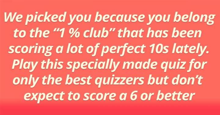 1% Club Trivia Quiz